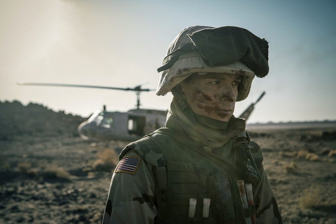 "Tom Holland stars as a young man who enlists in the Army as a medic and sees some seriously bad things in the drama ""Cherry."""
