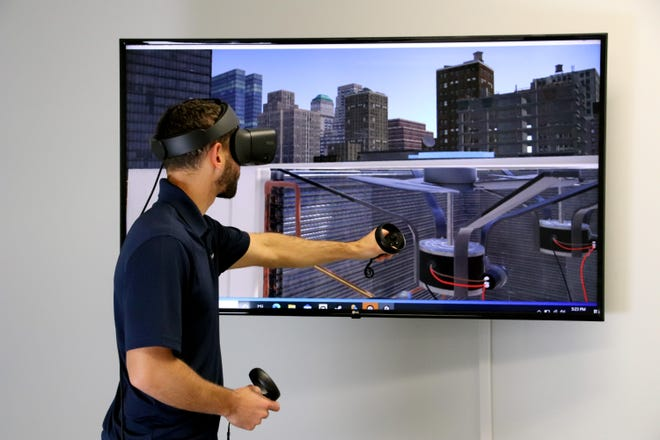 Austin-based Interplay Learning has raised $18 million for expansion. The company's platform uses 3D simulations and virtual realityas part of its training programs for workers in fields includingplumbing, electrical, solar, HVAC and multi-family maintenance.