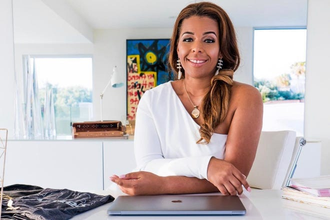Cultural strategist Kenya Parham is shown in this promotional photo from Na'Asiaha Simon & Associates.