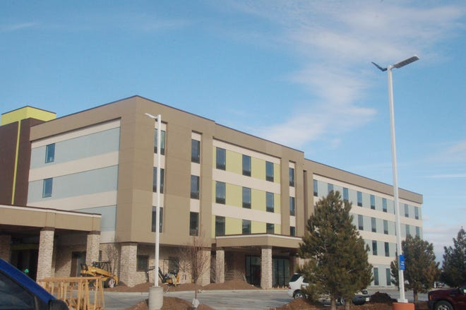 Pictured is a hotel project in progress on 2.6 acres of land at 7775 I-40 East within the TIRZ #2 boundary.