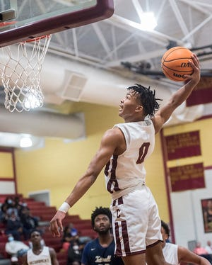 Cross Creek's Devin  Pope is one of two senior starters returning from last year's state championship run. Cross Creek takes on Sandy Creek in the Georgia High School Association 3A state title game on Friday in Macon.