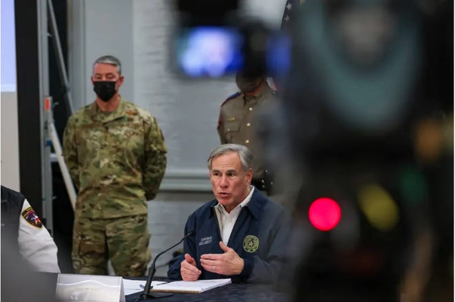 Gov. Greg Abbott's remarks came on the eve of committee meetings in the state House and Senate that will begin to probe the winter weather emergency.