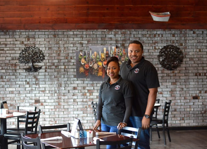 Amelia Kisna-Harvey and husband Cliff Harvey opened the Brickhouse Restaurant in 2018 with an eye toward bringing the best elements of Jamaican cooking to the Lower Cape.