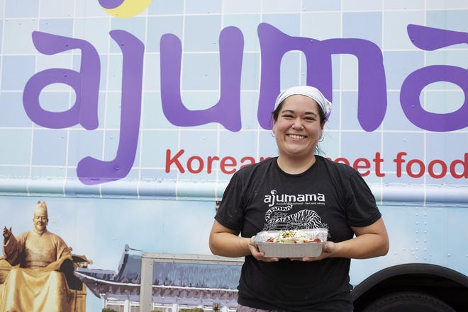 Laura Lee, owner of the Ajumama food truck, pivoted to a carryout kitchen early in the pandemic.