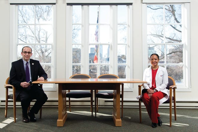 Public health commissioners Joe Mazzola and Dr. Mysheika Roberts are the Executives of the Year in Columbus CEO's 2021 Healthcare Achievement Awards.