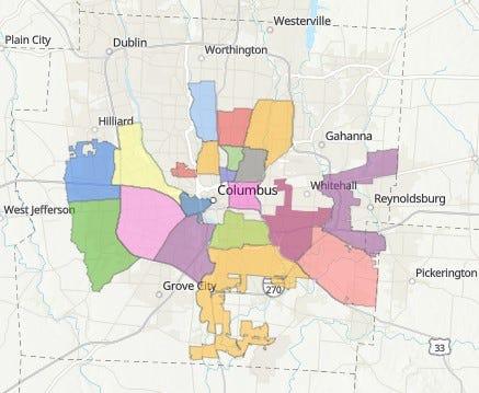 Columbus Area Commissions