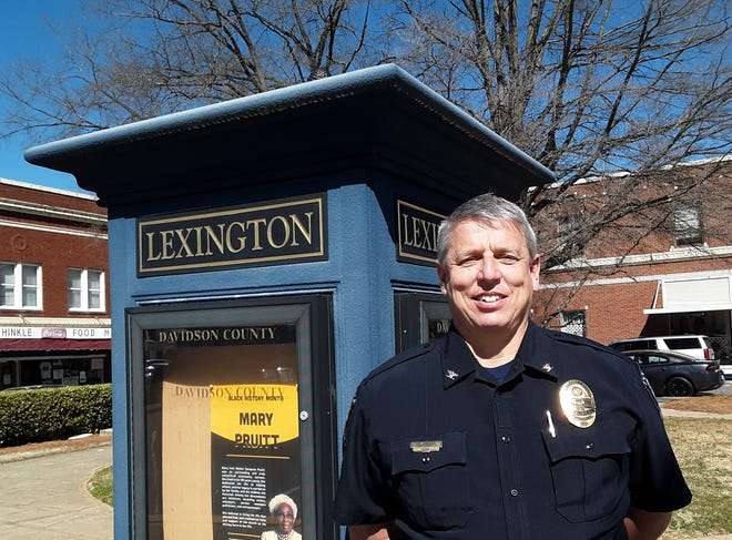 Lexington Police Chief Mark Sink will retire on Feb. 28 after 30 years with the department.