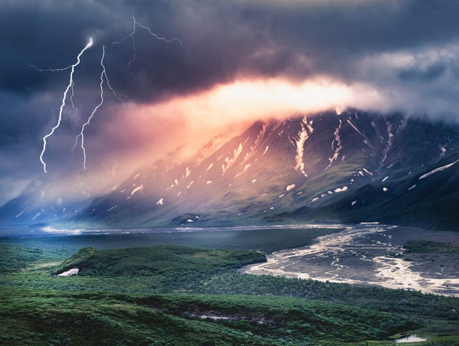Because of ongoing climate change, thunderstorm frequency could triple in Alaska by the end of the century.