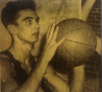 Bob Grove is pictured during his playing days.