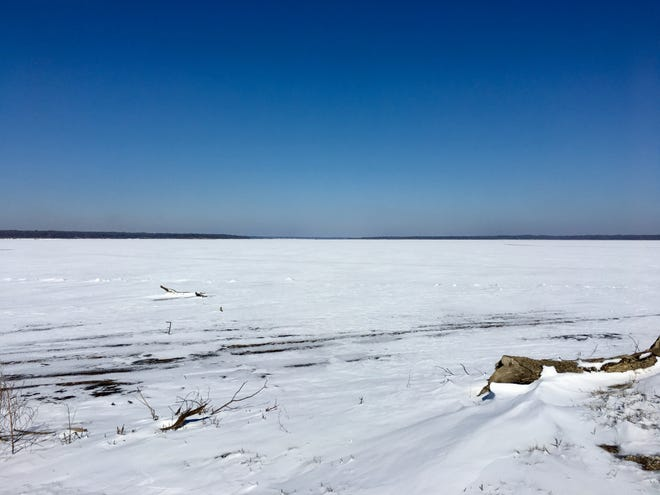It hardly seems possible, but this is what portions of Lake Texoma looked like a week ago as the historic freeze of February 2021 came to an end. Across Texomaland and the rest of Texas, the assessment continues to see what effect the historic cold wave has had on fish and wildlife who couldn't find an escape from subzero temperature readings and a heavy blanket of snow.