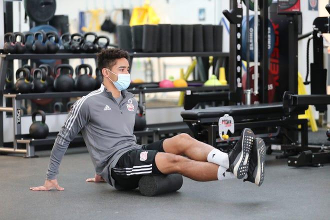MLS Revolution Defender Brandon Bye.