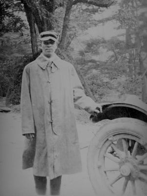 James Fisher worked at Connemara as a valet and chauffeur for the Smyth family in the early 1900's. His story is included on the Black History Research Committee's website, https://blackhistories.org/. Photo from the Ballard Family Photograph Collection at Carl Sandburg Home National Historic Site.