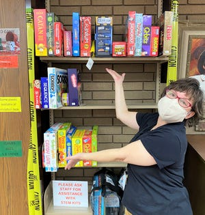 Thanks to a grant from the South Central Kansas Library System, Newton Public Library has added a collection of 32  board games for preschoolers through adults. Collection development librarian Stefanie Knopp is planning to add more over time.