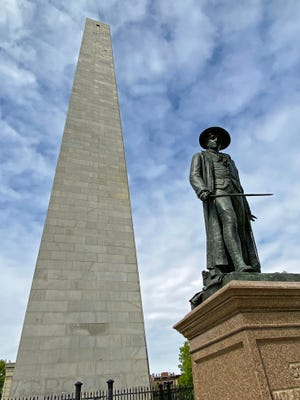 The Bunker Hill Monument was dedicated on June 17, 1843 in a major national ceremony. A statue to Dr. Joseph Warren was commissioned in the 1850s to pay particular respects to his sacrifice at the battle.