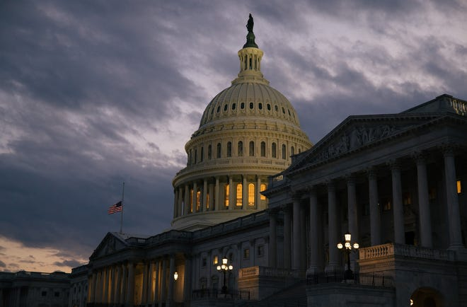 WASHINGTON -- The suns sets on the U.S. Capitol earlier this month. Over the more than four-decade history of the budget reconciliation process, leaders in both parties have availed themselves of it, almost always over the strenuous objections of the minority party.
