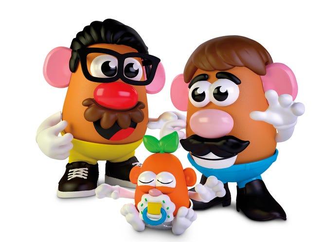 This photo provided by Hasbro shows the new Potato Head world. (Hasbro via AP)