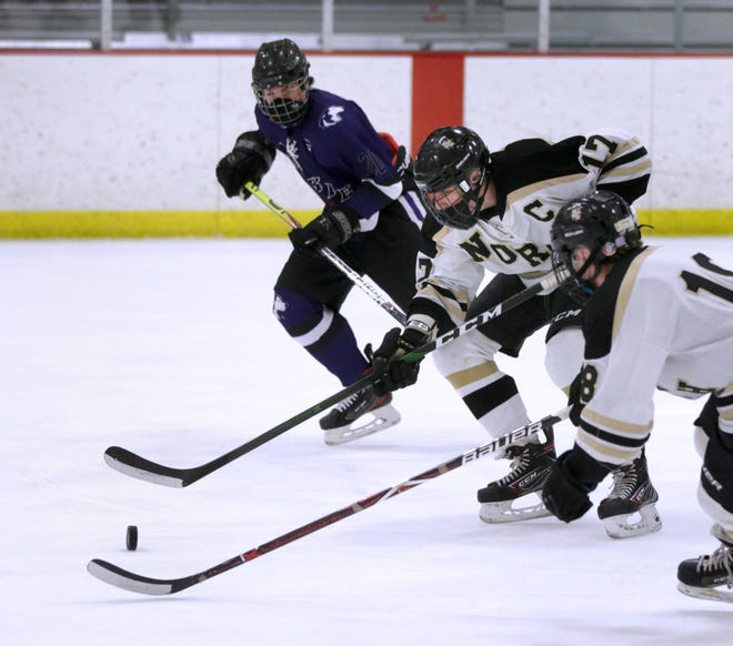 It took some time, but once the North Kingstown boys hockey team woke up Thursday, it cruised in its quarterfinal win over Mt. Hope/East Providence.