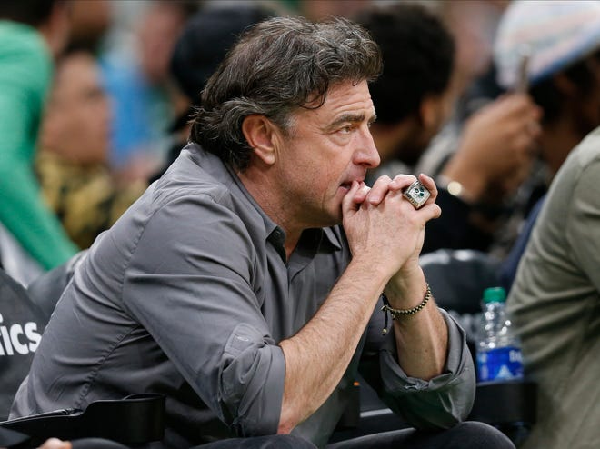 Celtics majority owner Wyc Grousbeck watches the action during overtime in a game against the Brooklyn Nets last March at TD Garden.