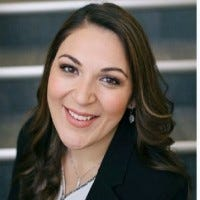 Ashley Espinoza, 34, was appointed to the Bethel School Board at the end of January.