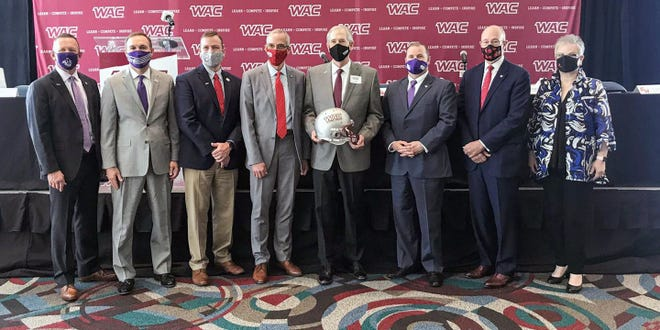 The Western Athletic Conference and ASUN Conference have agreed on a football scheduling alliance that will allow for the seven institutions to be eligible for an automatic qualification into the 2021 NCAA FCS Playoffs.