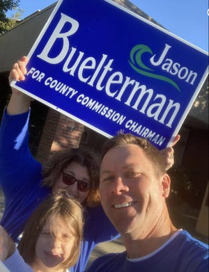 Jason Buelterman lost to Chester Ellis in the Chatham Commission chairman's race last November.