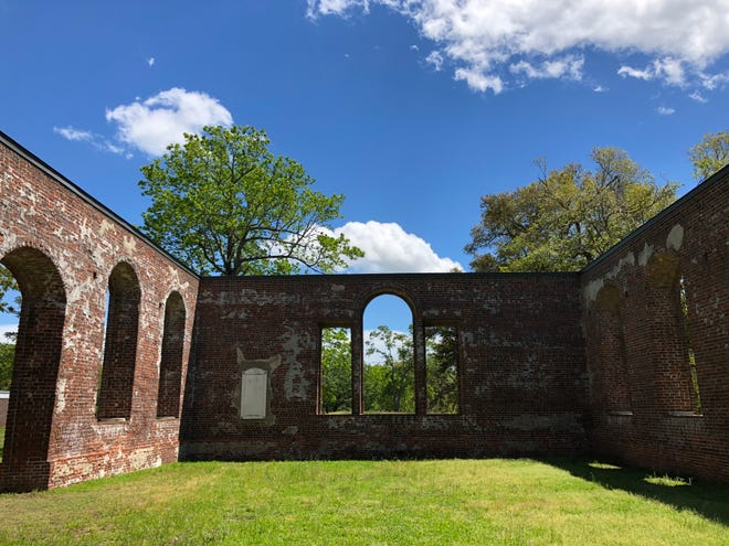 St. Philips Church at Brunswick Town/Fort Anderson State Historic Site is a favorite of locals and tourists, and will be among the historic sites visited this summer after these places were closed much of summer 2020 for COVID-19.