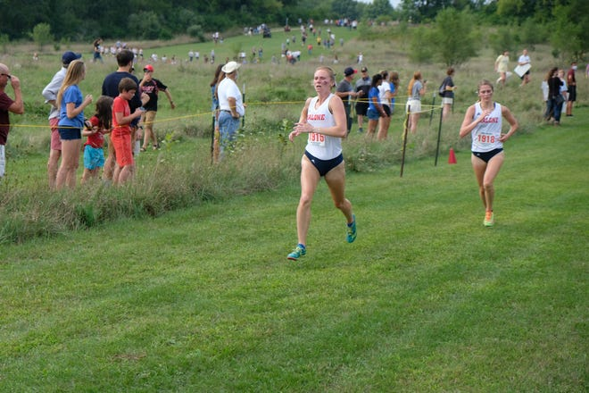Manchester graduate and Malone University freshman MacKenzie McCarthy has adjusted quickly during her first year competing in cross country and track on the college level.