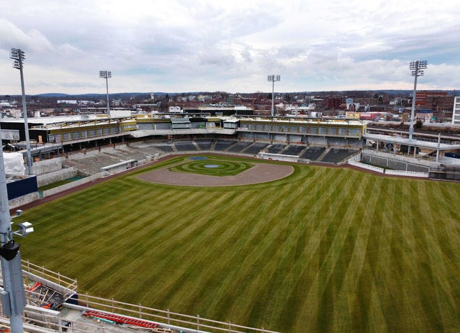 Because of the delay in the Triple-A season, the Worceser Red Sox' home schedule has been trimmed to 60 games.