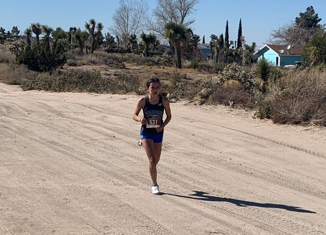 Serrano's Tiani Goeson took first place in the team's return to action Wednesday.