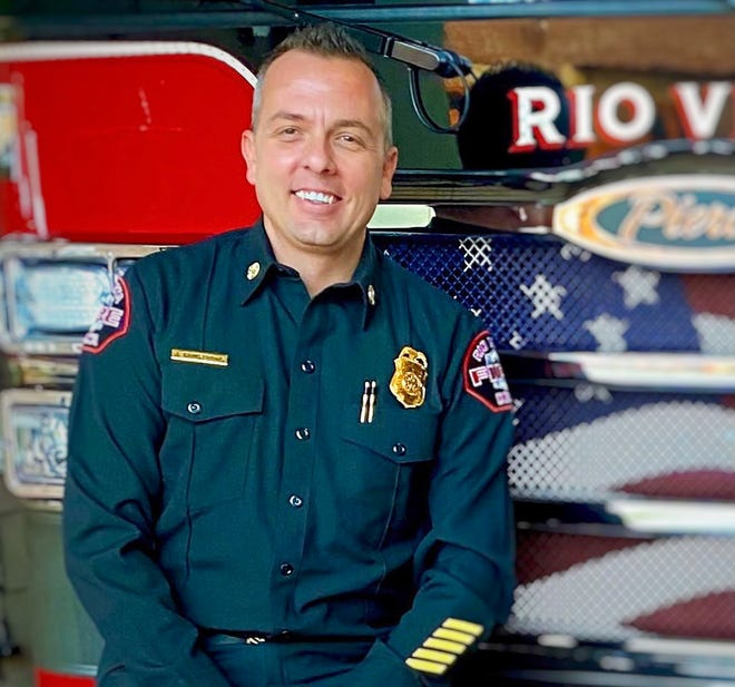 Jeff Armstrong was selected as the new chief of the Victorville Fire Department in an announcement by the city on Wednesday, Feb. 24, 2021.