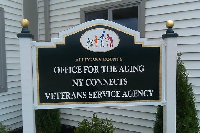 The Allegany County Office for the Aging serves individuals over the age of 60.