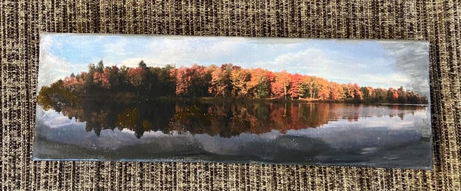 """""""Fall Reflection"""" on canvas"""