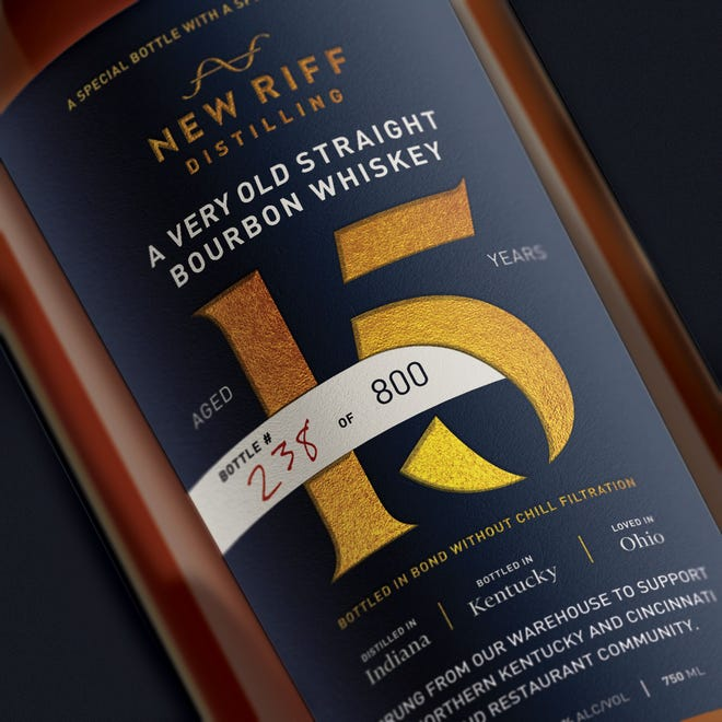New Riff Distilling is releasing a special bourbon bottle to raise money benefitting bar, restaurant and service industry workers in Greater Cincinnati.