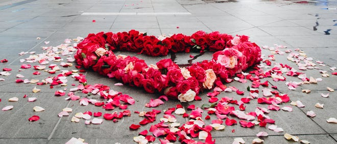 The Floral Heart Project seeks to give communities around the country a way to acknowledge grief from COVID-19.
