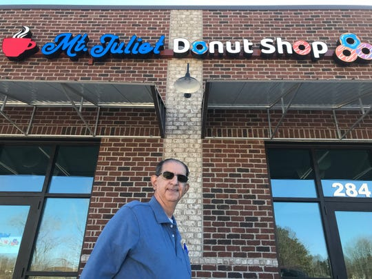 Nader Khoury will open the Mt. Juliet Donut Shop at a new commercial center on  Nonaville Road.