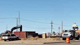 Road work causes lane closures in Alamogordo