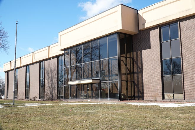 This former office building at 31100 Plymouth in Livonia is may become a self-storage business in the future.