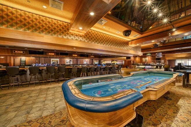 Nevada's longest craps table from Lakeside Inn and Casino is up for auction at Stremmel Auctions online through March 6, 2021.