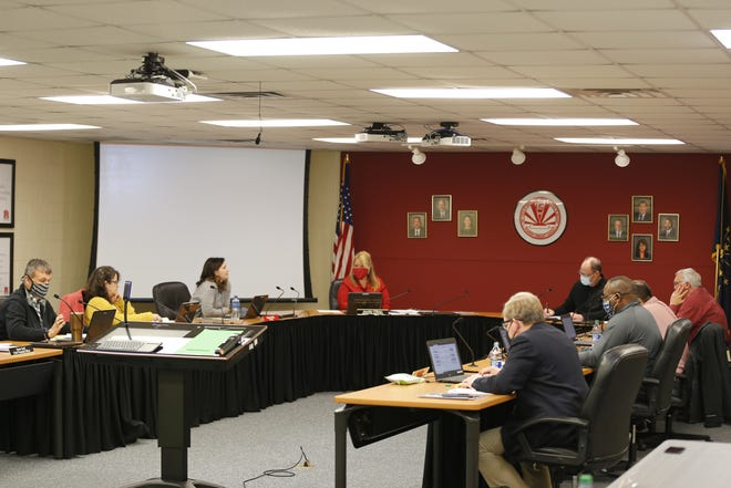 Richmond Community Schools board interviewed three candidates for its vacant board member position at its bi-weekly meeting on Wednesday, May 26, 2021.