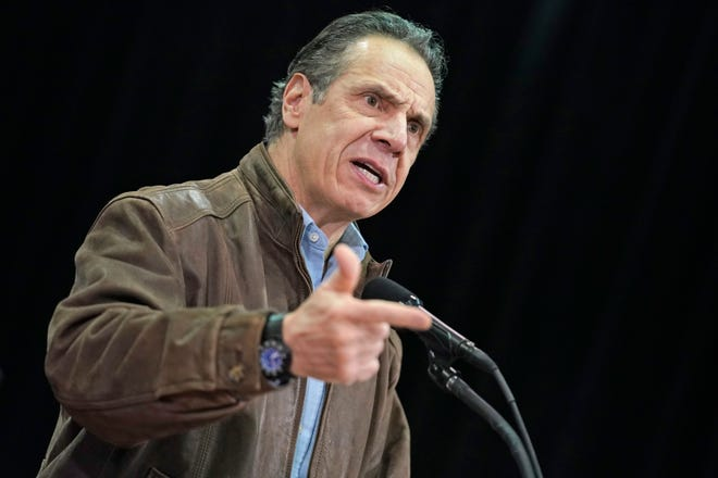 New York Gov. Andrew Cuomo's office denies accusations that he sexually harassed an aide.
