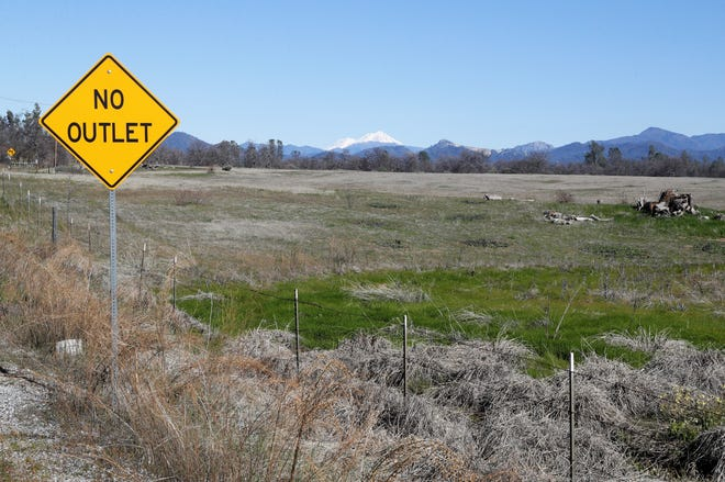 Bethel Church plans to build its new campus on this land off Collyer Drive in east Redding. The project is set for a 39-acre corner lot at Twin Tower and Collyer drives with a view of Mt. Shasta, just north of Highway 299.