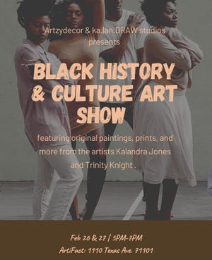 Black History and Culture Art Show