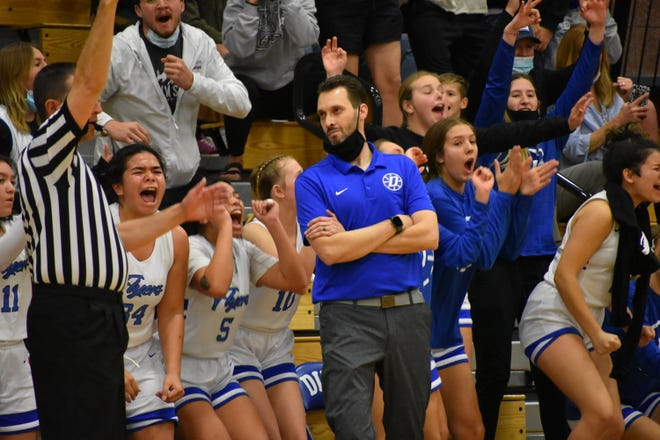 Dixie defeated Snow Canyon 57-44 to advance to the second round of the 4A playoffs Wednesday evening.