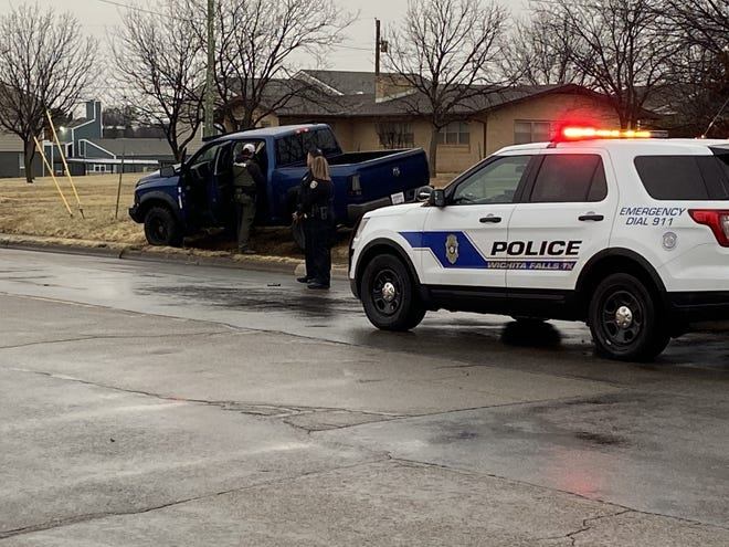 Wichita Falls Police caught a suspect following a pursuit across town and a short foot chase Thursday evening