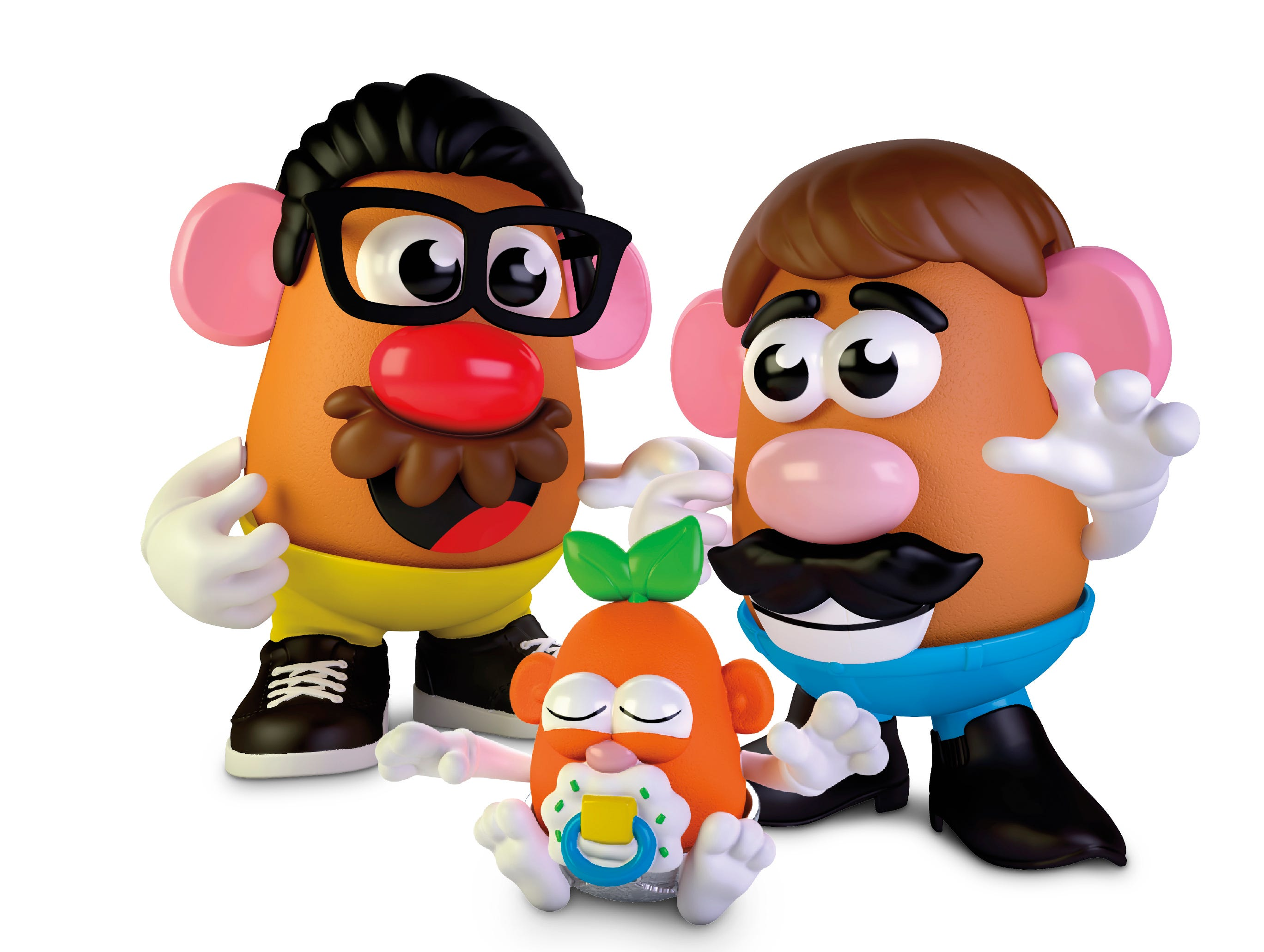 'Why is the king worth more than the queen?' Cards, Potato Head, more toys get a makeover