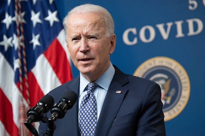 President Joe Biden pushes a $1.9 trillion COVID-19 relief package.