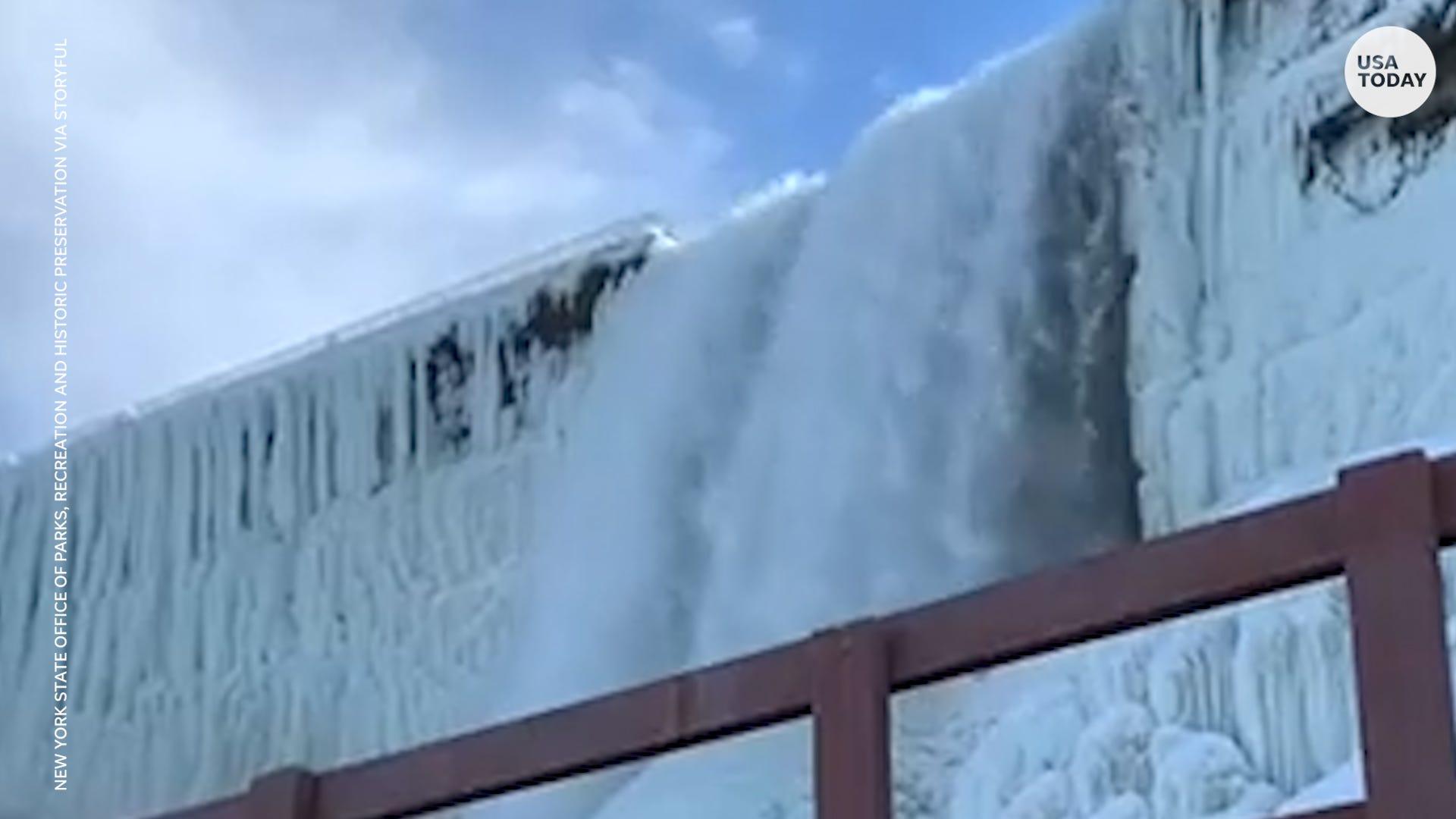 Is Niagara Falls more beautiful when it's flowing or frozen? You decide.