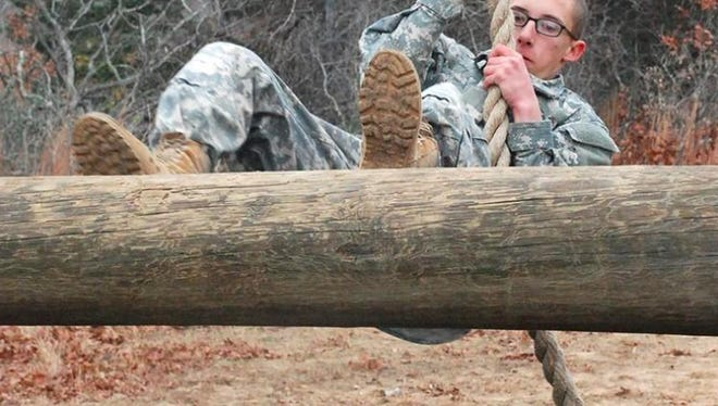 Texas Army National Guardsmen Michael Key competed in the 2014 Best Warrior Competition at Camp Swift in Bastrop. The 2021 edition of the Best Warrior Competition will take place at Camp Swift this week.