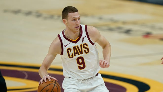 Forward Dylan Windler is settling in to his role with the Cavaliers and put together a streak of nine consecutive 3-pointers made. [Tony Dejak/Associated Press]
