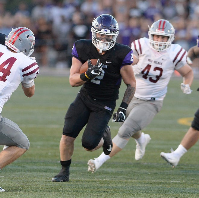Mount Union running back Josh Petruccelli ran for 1,335 yards and 19 touchdowns in 2019.
